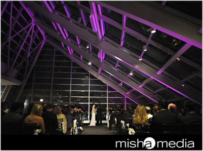Adler Planetarium Wedding Lighting