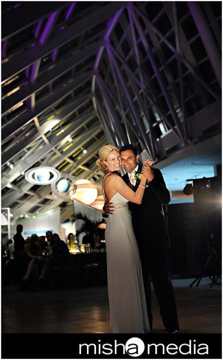 Adler Planetarium Wedding