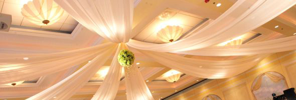 Ceiling Canopy for Chicago Wedding