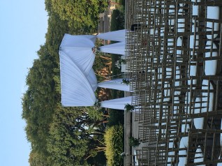 Ceremony Strucutre for a Chicago History Museum Wedding