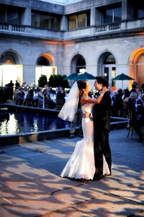 First Dance at Art Institute Wedding