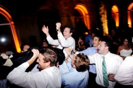 Groom Dancing at Art Institute Wedding