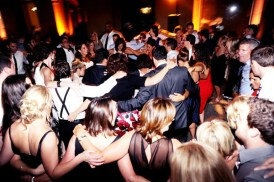 Guests Dancing at Art Institute Wedding