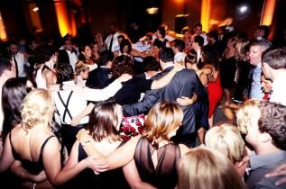 Guests Dancing at Art Institute Wedding