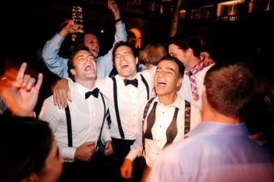 Groom Singing at Art Institute Wedding