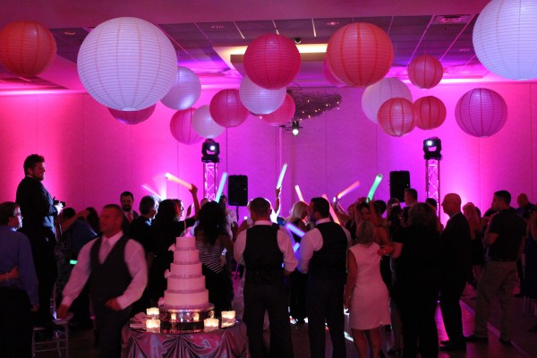Belvedere Banquets Wedding DJ and Lighitng