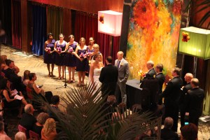 Wedding Ceremony at Carnivale