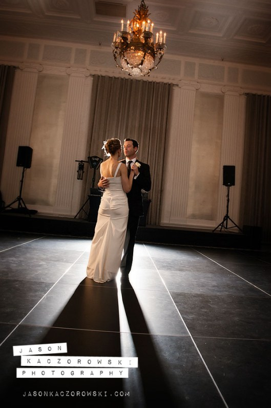 First Dance at W City Center Wedding