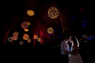 Lighted Grapevine Balls at Oak Brook Bath and Tennis Photo by Becky Brown