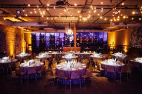 Lighting for a City Winery Wedding Photo by Tim Tab Studios