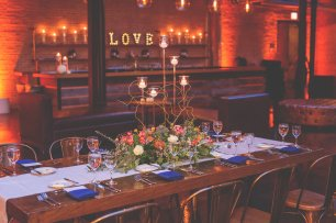 Lighting for a Morgan Manufacturing Wedding Photo by Laura Meyer Photography 2