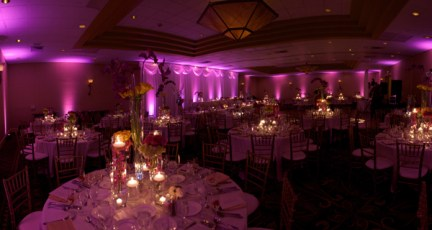 Sheraton Wedding Lighting