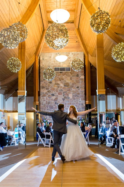 Wedding at Oak Brook Bath and Tennis Photo by Becky Brown