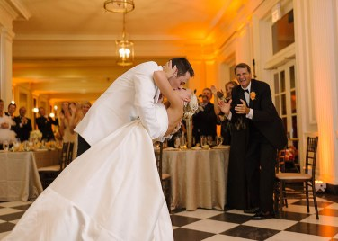 A downtown Chicago wedding at Chicago History Museum with Kristin and Max
