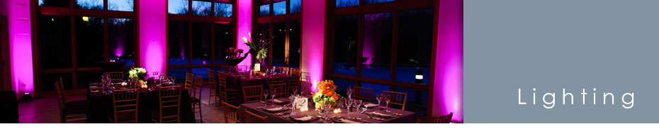 Wedding Lighting Photo Gallery