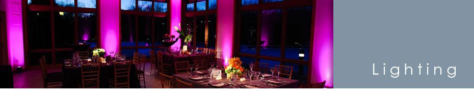 Wedding Lighting Photo Gallery