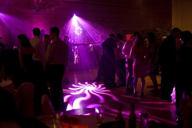 Intelligent Lighting at a Wedding