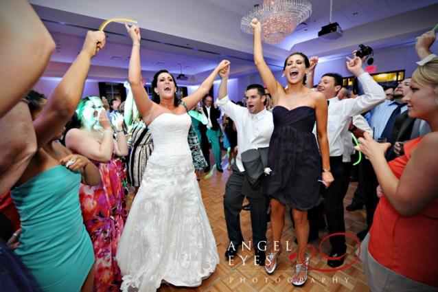 Bride Rocking on the Dance Floor