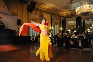 Belly Dancer at a Chicago Wedding