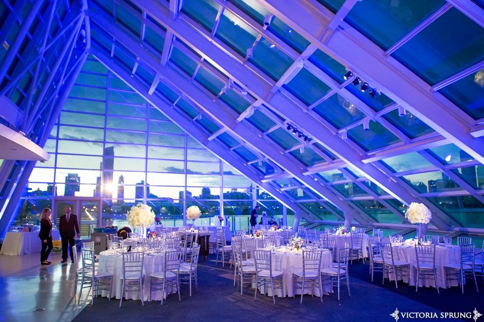 Adler Planetarium Wedding.Wedding Lighting At Adler Planetarium Photo By Victoria Sprung Mdm