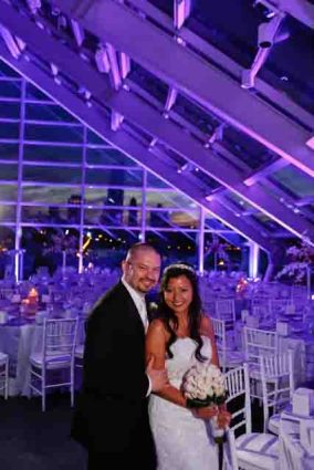 Estel and Walter's Wedding at Adler Planetarium