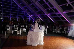 Wedding Lighting at Adler Planetarium