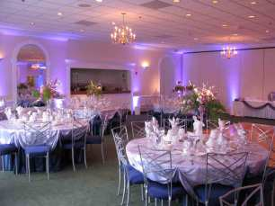 Room Up Lighting at Palos Hills Country Club