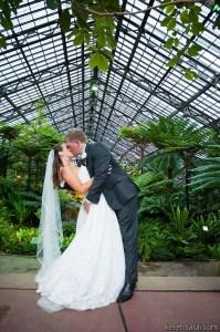Garfield Park Conservatory Wedding Reception