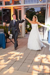 Abby and Ryan's Introduction at Garfield Park Conservatory Wedding