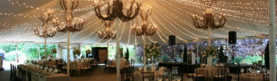 Galleria Marchetti Wedding Lighting