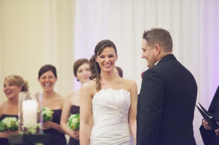 Erik and Alycia's Wedding Ceremony at JW Marriott Chicago