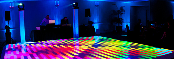Chicago LED Dance Floor