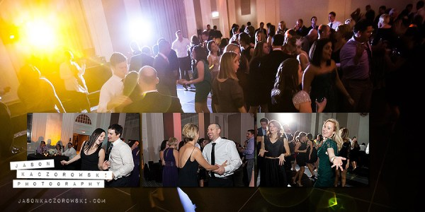 W City Center Wedding Dancing Collage