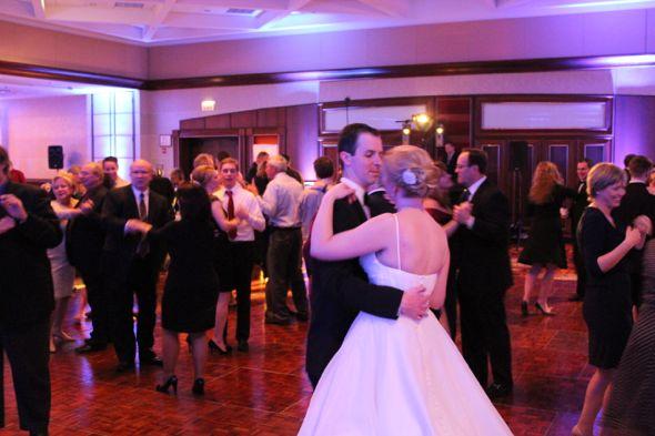 Kristin and Brad's Marriott OHare Wedding