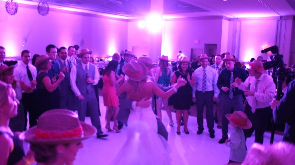 Belvedere Banquet Wedding Cowboy hats