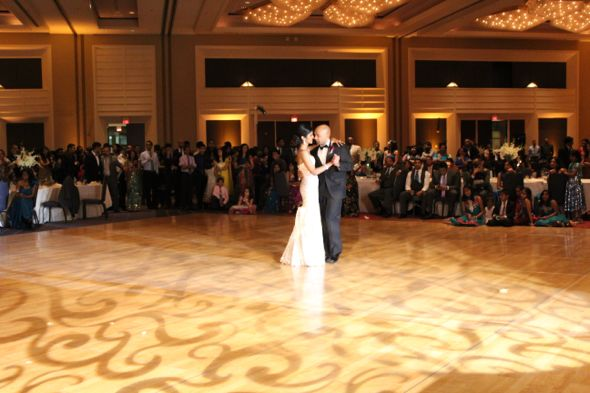 Gisha and Sanjay's First Dance