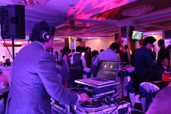 Cai Restuarant Transformed/ Chicago Indian Wedding DJ, Aumir