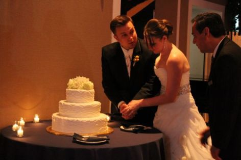 The Metropolis Ballroom Wedding Cake
