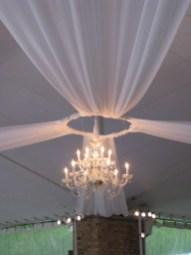 Chandelier Lighting at Chicago Botanic Gardens Wedding
