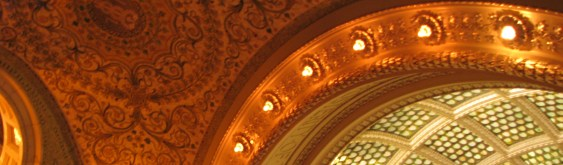Chicago Cultural Center Wedding Lighting