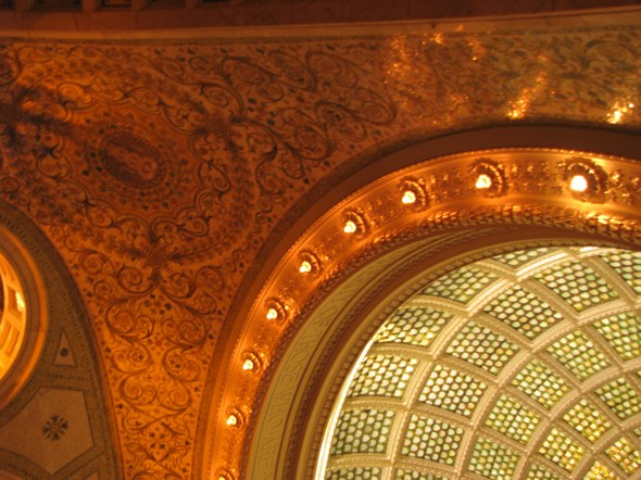 Chicago Cultural Center Lighting