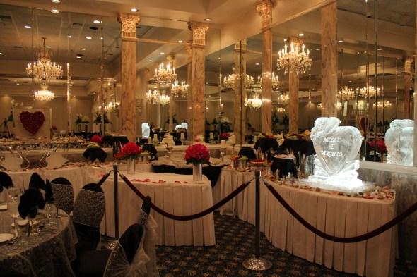Alta Villa Banquets Ice Sculpture