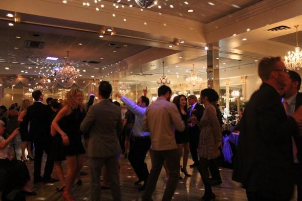 Alta Villa Banquets Celebrating the Chicago Black Hawks Win