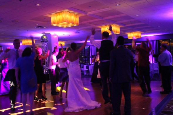 Chicago Wedding DJ at the Holiday Inn Mart Plaza