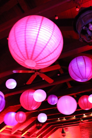 Chicago Wedding Lighting Floating Lanterns