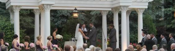 Outdoor Wedding in Chicago