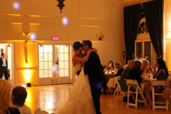 First Dance at Highland Park Community House Wedding