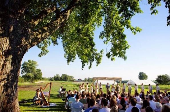 Heritage Prairie Farm Lawn Ceremony