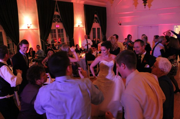 Bride Dancing at Highland Park Community House