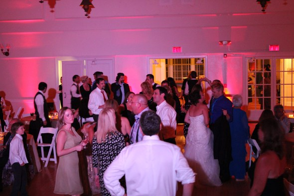 Wedding Dance Floor at the Highland Park Community House